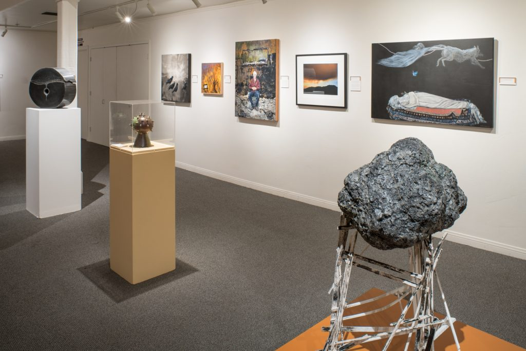 "Ojai Studio Artists exhibition, ""Scorched Souls,"""