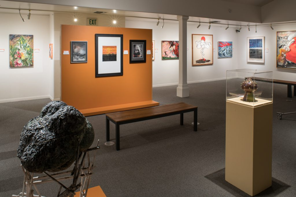 "Ojai Studio Artists exhibition, ""Scorched Souls,"""