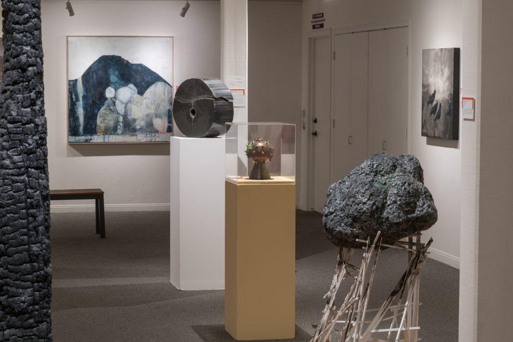 "Ojai Studio Artists exhibition, ""Scorched Souls"""